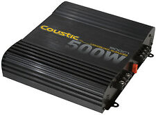 MTX Audio Coustic 500C1 160W RMS Mono Block Amplifier