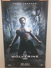 Large movie banner / poster - The Wolverine ( Hugh Jackman ) 200 x 150 cm.