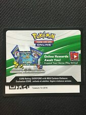 Pokemon 2016 Collector Chest TCGO Online Code - Shiny Mega Gengar EX XY166