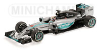 MINICHAMPS 110 130110 150044 MERCEDES W04 F1 model car Lewis Hamilton 2013 1:18