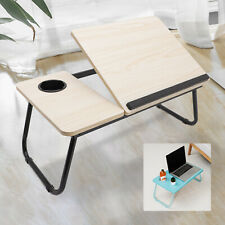 Adjustable Portable Laptop Bed Table Stand Folding Computer Desk Sofa Lap Tray