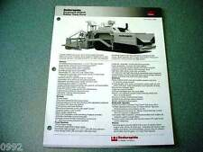 Cedarapids Grayhound CR361R Rubber Track Paver Brochure