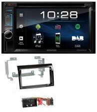 Kenwood DVD Bluetooth 2DIN USB MP3 DAB Autoradio für Fiat Ducato Peugeot Boxer C