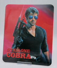 stallone COBRA - Glossy Fridge or Bluray Steelbook Magnet Cover (NOT LENTICULAR)
