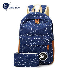Canvas Women Back Pack Big Capacity School Bag For Teenagers Back Pack For Girls