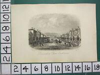 C1860 Piccolo Antico Eastbourne Stampa ~ Devonshire Place