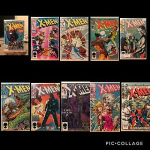 Uncanny X-men Comic Book Lot Of 45 Books For Auction, Some Keys Included 🔥🔥🔥
