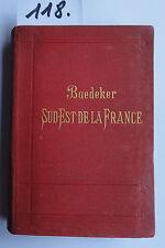 Baedeker Sud- Est de la France 1897 (2. W.)