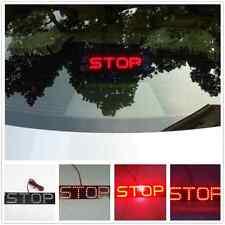 Stop Logo Auto Red LED Rear Brake Light Tail Sucker Stop Light For Lexus Toyota