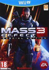 Nintendo WiiU Game Mass Effect 3 Special Edition Wii U UNCUT NEW MERCHANDISE