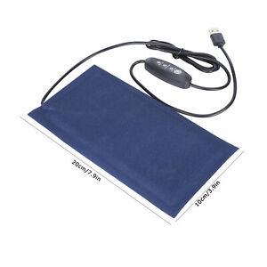 Reptiles Pet Heating Mat Pad Carpet Keep Warm USB Power Dog Cat Heated Pad