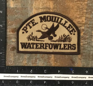 Vintage Pointe Mouillee Waterfowlers Michigan Gun Club Hunting Patch