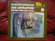John Lewis – Jazz Abstractions - Atlantic – SD 1365 - Vinyl Record LP 1960 JAZZ