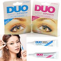 Brand New DUO False Eyelash Lash Glue Adhesive 9g, Dark or Clear, Waterproof UK