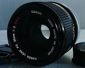 [NEAR MINT] Canon FD 35mm F/2 S.S.C. Lens From JAPAN #1204