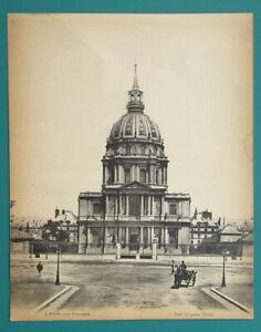 HISTORIC PARIS Hospice Hotel des Invalides - ca 1915 Photo Collotype Print