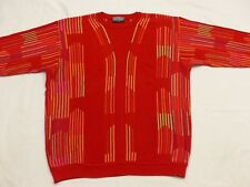 CARLO COLUCCI Jersey Fuego Rojo BIG Color Vintage Naranja Talla: L COMO NUEVAS