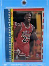 1987 Fleer Michael Jordan 2nd Year Sticker - Chicago Bulls