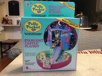 VINTAGE MATTEL  POLLY POCKET STARLIGHT CASTLE PLAYSET 9348 NEW IN BOX SEALED