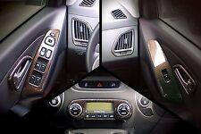 Carbon Interior Trim Molding Tape On 13Pc Set For Hyundai Tucson IX 14-15 NEW