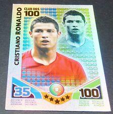 RONALDO CR7 PORTUGAL CLUB 100 TOPPS MATCH ATTAX TRADING CARD GAME FOOTBALL 2010