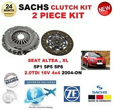 FOR SEAT ALTEA 5P1 XL 5P5 5P8 2.0 TDi 16V 4x4 2004-ON SACHS 2 PIECE CLUTCH KIT