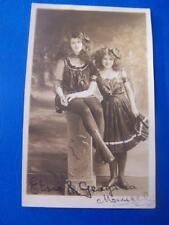 Elsie & Georgina Mansel  Autograph