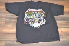 Vintage 1980's Metallica Lives on Dedicated To Cliff Burton T-Shirt