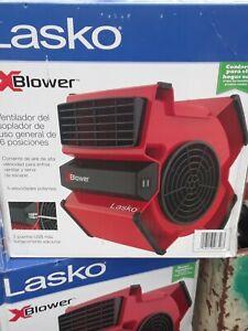 Lasko X12900 Blower/Utility Fan - Red