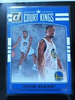 2016-17 Panini Donruss Court Kings #8 Kevin Durant Golden State Warriors Card