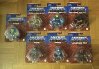 """Masters Of The Universe Eternia Minis 2"""" Set of 7 Lot NEW 2021 MOTU in Hand"""