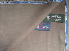DORMEUIL 55%COTTON, 20%LINEN, 15%WOOL,10%MOHAIR SUITING/JACKETING FABRIC- 2.72 m
