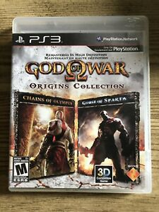 God Of War : Origins Collection - Ps3 ( Sony Playstation 3 ) Complete !