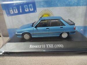 Renault 11 TXE 1/43 Colección Autos  argentinos años 80 90 serie 2 inédita