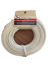 6Wire 100ft Multi-line Accessories 6-Conductor Telephone Extension Wire Modular