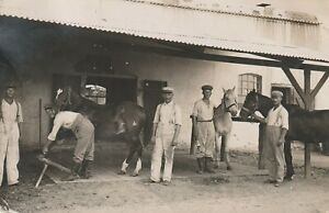 Foto AK Deutsch Südwest Afrika 6.Komp.Station Outjo Namibia Kolonien 1912 DSW