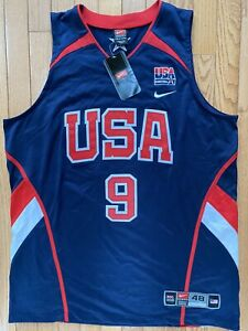 Nike Authentic Olympic Dream Team USA Dwyane Wade Jersey Stitched 48 New Tags