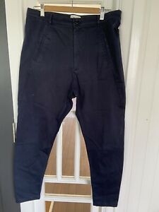 Scanlan Theodore Navy Cotton Pants Size 10