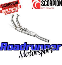 SCORPION GOLF R32 MK5 Sports GATTI SCARICO Inc per tubi di scolo con Flex svwx039