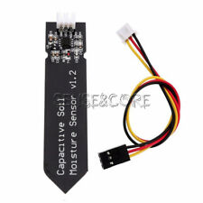 5Stks Analog Capacitive Soil Moisture Sensor V1.2 Corrosion Resistant With Cable