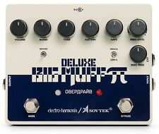 New Electro-Harmonix EHX Deluxe Sovtek Big Muff Distortion Fuzz Guitar Pedal!