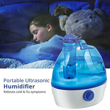 Ultrasonic Cool Mist Humidifier 2.2L Portable Home Office Baby Nursery Room