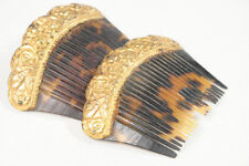 Filipiniana Payneta Comb 10k Antique Gold