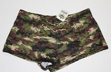 NEW W/TAGS! LICENSED JENSEN HOOTERS UNIFORM DIGI CAMO UNIFORM SHORTS MEDIUM M