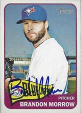 Brandon Morrow Toronto Blue Jays 2014 Topps Heritage Signed Card