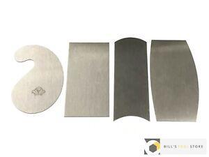 Thomas Flinn Pax 4 Piece Cabinet Scraper Set (Garlick) | Brand New