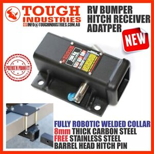 BUMPER HITCH RECEIVER ADAPTER RV SUITS BIKE CARRIER RACK ATV HAYMAN REESE STYLE