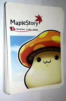 Maple Story Trading Card Game LOTTO 18 CARDS