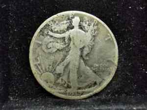 USA., Silver (.900), Walking Liberty 1/2 Dollar 1917, Fair, MA028