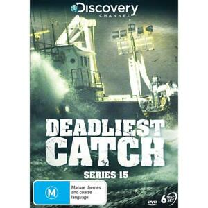 DEADLIEST CATCH : Season 15 : NEW DVD